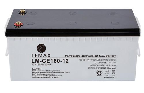 Solar Power Battery GEL 12V160Ah- Lemax