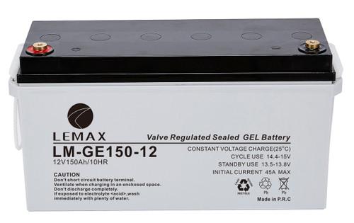 Solar Power Battery GEL 12V150Ah- Lemax