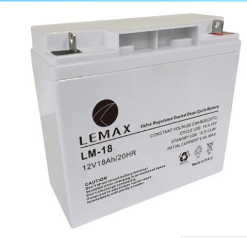 Maintenance Free Energy Storage Battery 12V18AH Lemax