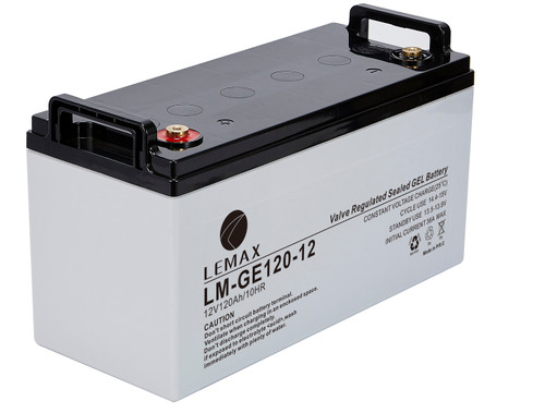 Energy Storage Lead Acid GEL Battery GEL 12V120Ah- Lemax