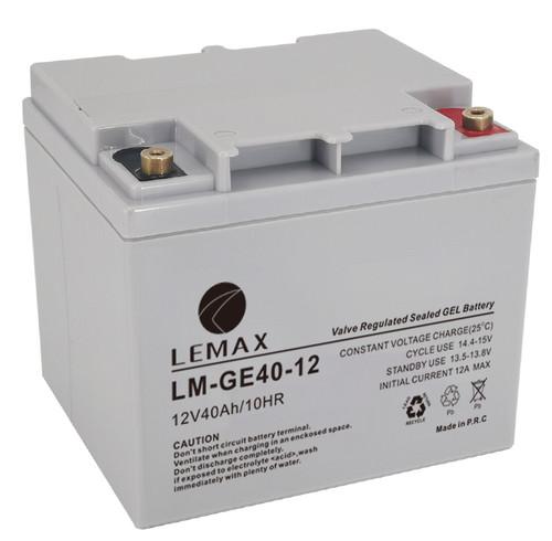 Deep Cycle GEL VRLA Batteries GEL 12V40Ah- Lemax (GEL 12V40Ah- Lemax)