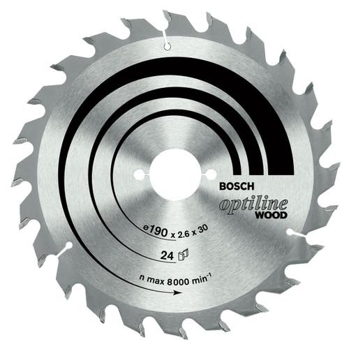 Bosch circular saw blade ecoline wood 160mm, 36 teeth.