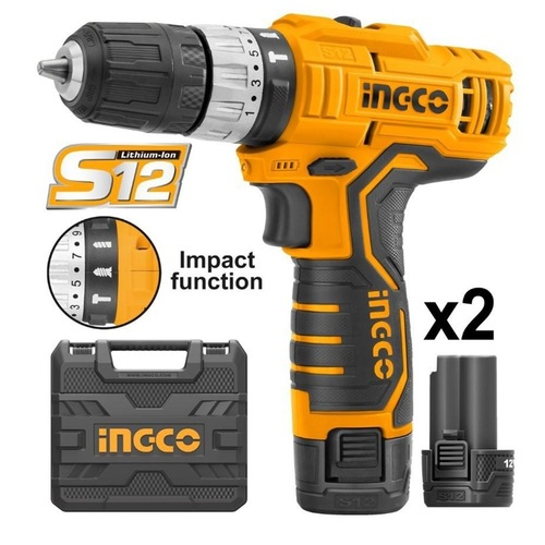 Ingco Lithium-Ion impact drill CIDLI1232