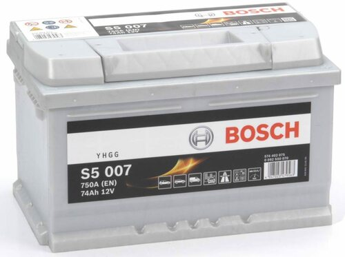 Bosch Automotive and Starter Battery S5 74AH 12V