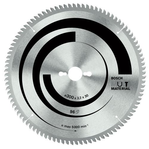 Bosch circular saw blade ecoline multi material 305mm, 96 teeth