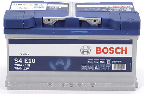 Bosch Automotive and Starter Battery S4 75AH 12V