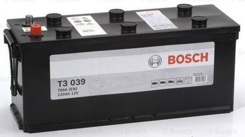 Bosch Automotive and Starter Battery T3 120AH 12V