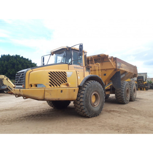 Volvo A40D articulated dump truck 6X6 year 2007 (used)