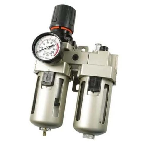 Air compressor filter regulator-lubricator 1/2