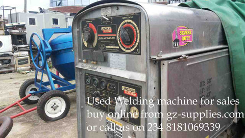 Lincoln Welding machine SAE 400 Amps Used
