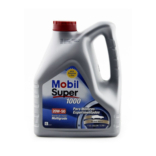 Mobil Super 1000 20W50 Lubricant 4liters