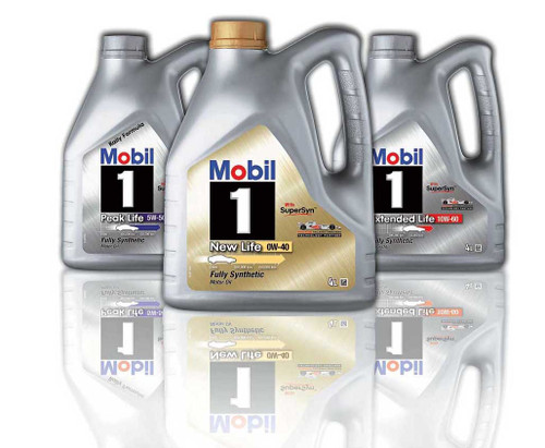 Mobil 1 New life 0W40 4 Liters Lubricants
