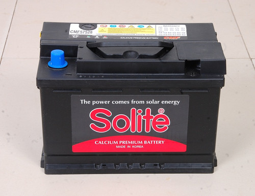 Solite Automotive car Battery 75A 12volts (Korea)