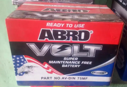 Abro Volt Automotive Car Battery 150 AH, 12v Sealed and dry charge 5752 MF
