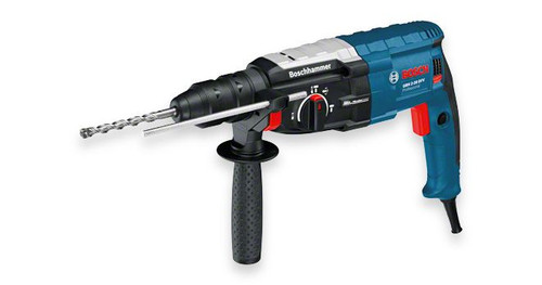 Buy Bosch GBH 2-28 DFV Professional Rotary Hammer with SDS-plus online at GZ Industrial Supplies The most important data Rated power input 	850 W Max. impact energy 	3,2 J Drilling diameter in concrete with hammer drill bits 	4 – 28 mm
