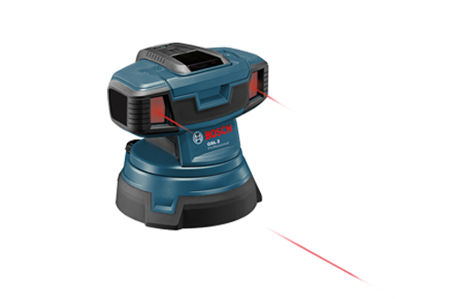 Buy Bosch GSL 2 Surface Laser Basic online at GZ Industrial Supplies Nigeria. Includes RC2 Remote Control Target Plate  (4) AA Batteries