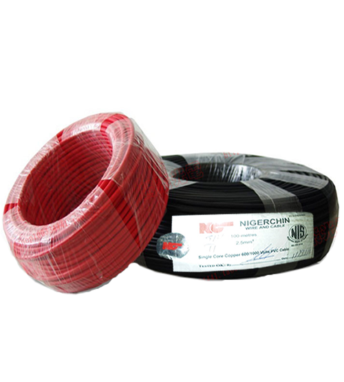 NIGERCHINE SINGLE CORE COPPER WIRE 6MM