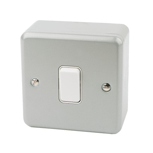 1 Gang switch with metal clad electrical switch