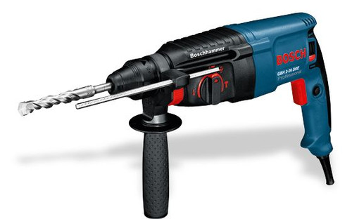 Buy Bosch GBH 2-26 promo Rotary hammer online at GZ Industrial Supplies Nigeria Gets the work done quickly due to fast drilling rate and high chiselling performance because of 800 watt powerful motor and 2.7 joules of impact energy
