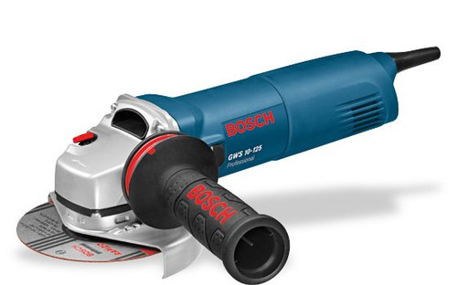Buy Bosch GWS 10-125 Angle Grinder online at GZ Industrial Supplies Technical data: GWS 10-125 Professional Rated power input 1,000 W No-load speed 11000 rpm Power output 630 W Grinding spindle thread M 14 Disc diameter 125 mm Rubber sanding plate, diameter 125 mm Wire cup brush, diameter 70 mm Length 298 mm Height 106 mm Weight without cable 2.1 kg