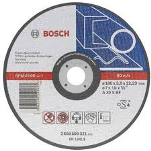 Bosch metal straight cutting disc, A 30 s BF online at GZ Industrial Supplies Nigeria.