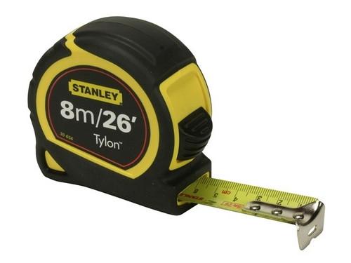 Stanley Measuring Tape 8m/26 FT Tylon Tape measure