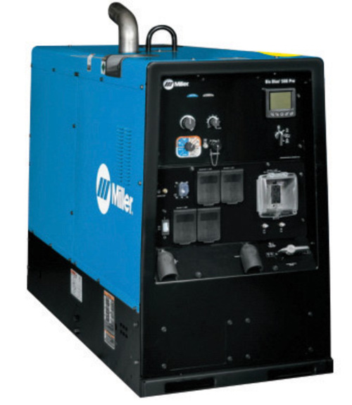 Miller Welding machine big blue 500X diesel driven