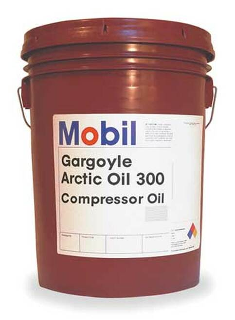 Mobil Gargoyle Arctic Oil 300 compressor lubricant 20 litres