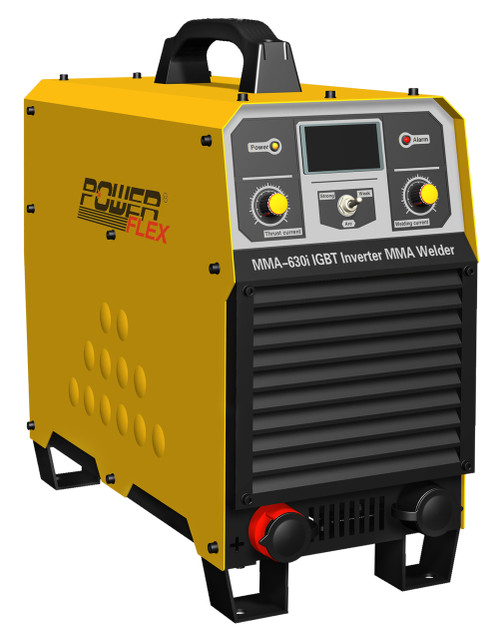PowerFlex welding machine MMA-630i 3 phase electric-powered