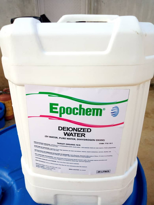 Epochem Deionized Water 20 Litres