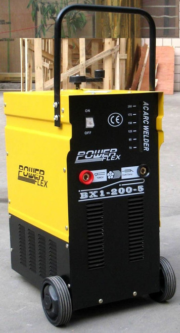POWER FLEX WELDING MACHINE 2 PHASE 300 AMPS AC ARC WELDER