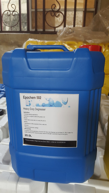 Epochem 502 heavy duty degreaser and industrial cleaner, 20Liters