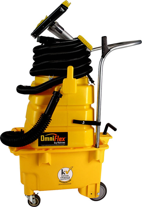 Industrial Floor Cleaner omniflex dispense and vac system