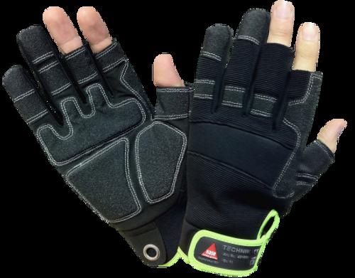 Safety Hand glove Technik 3-fingers Hase Safety work wear