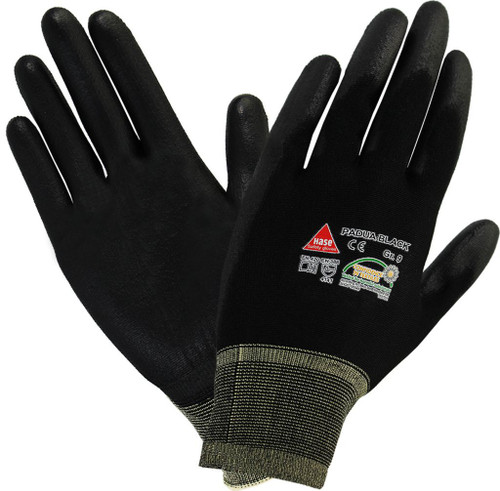 safety hand glove Padua black Hase safety work wear
