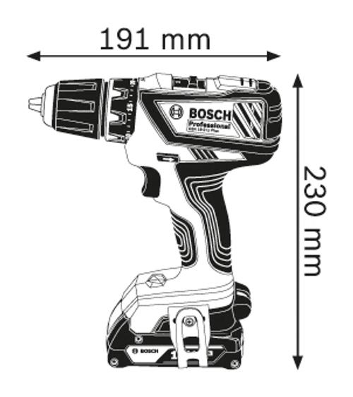 Bosch GSR 18 2 Li Plus Cordless drilling/Driver machine (