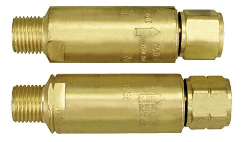 Victor Flash Back Arrestor pair, torch mount