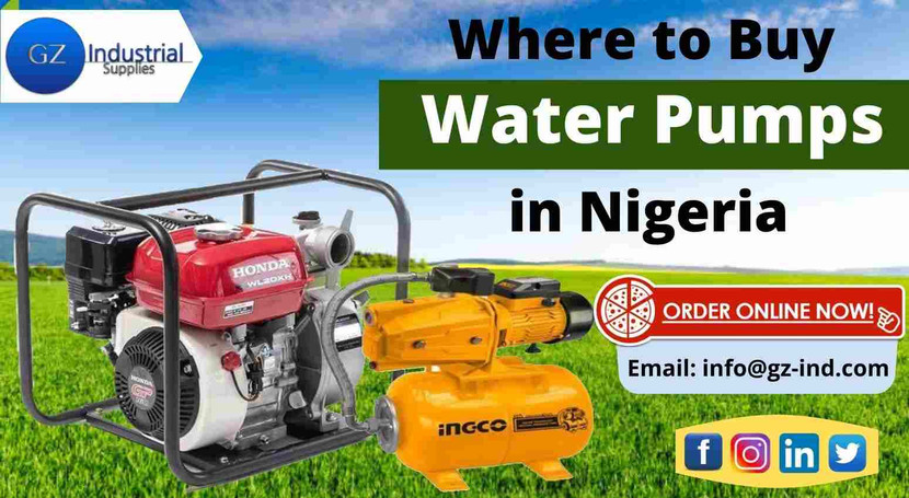 ​Where to Buy Water Pumps in Nigeria