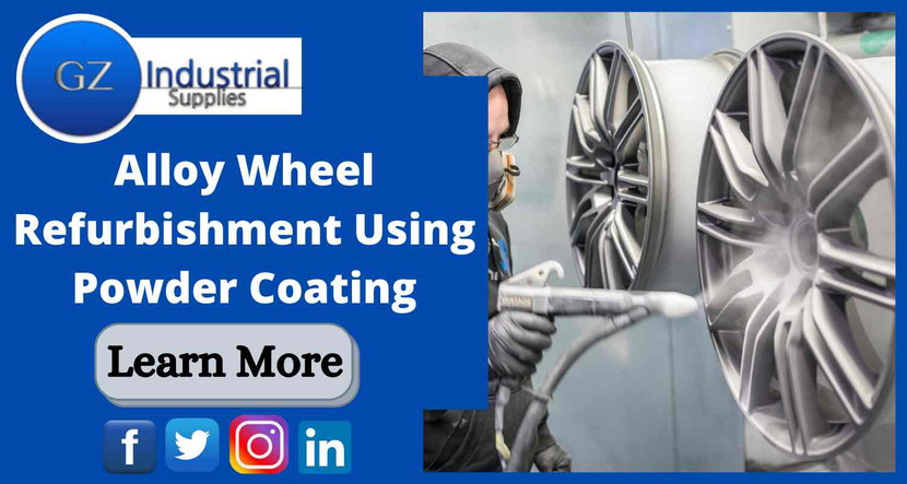 ​Alloy Wheel Refurbishment using Powder Coating