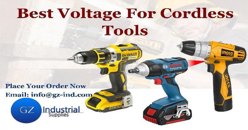 ​Best Voltage For Cordless Tools