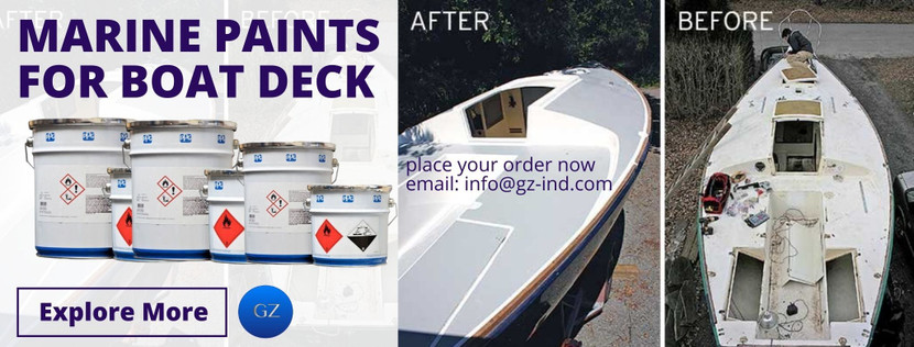 MARINE PAINTS FOR BOAT DECK