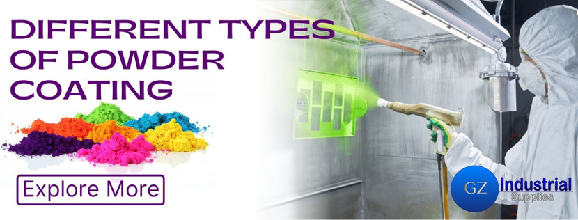 DIFFERENT TYPES OF POWDER COATING
