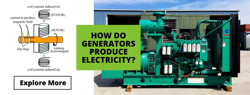 HOW DO GENERATORS PRODUCE ELECTRICITY?