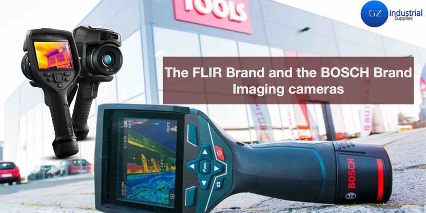 Comparing The best  Infrared Cameras in Nigeria Bosch GTC 400 and FLIR E60