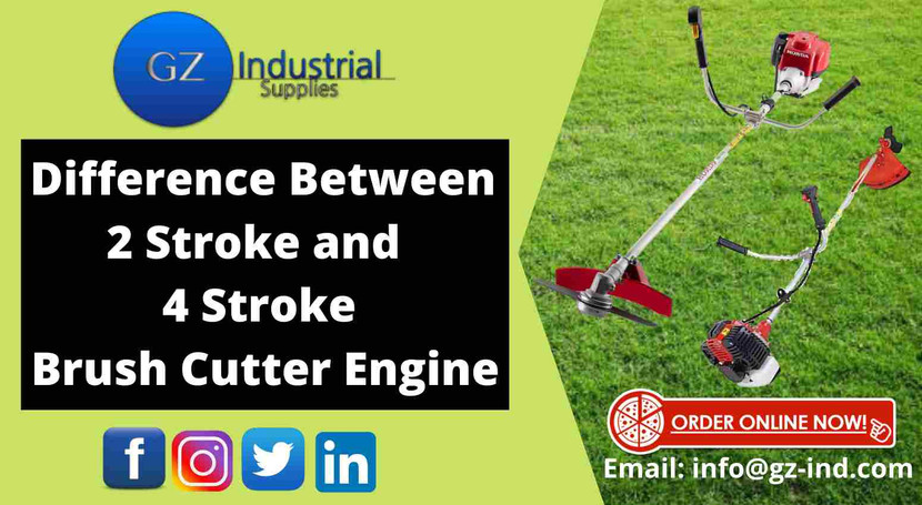 Difference Between 2 Stroke And 4 Stroke Brush Cutter Engine