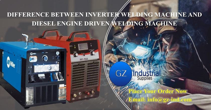 DIFFERENCE BETWEEN INVERTER WELDING MACHINE AND DIESEL ENGINE DRIVEN WELDING MACHINE