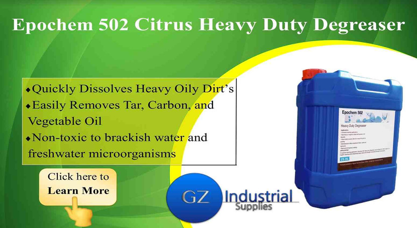 Epochem 502 Citrus Heavy Duty Degreaser Approved for Use in the Nigeria Oil and Gas Industry