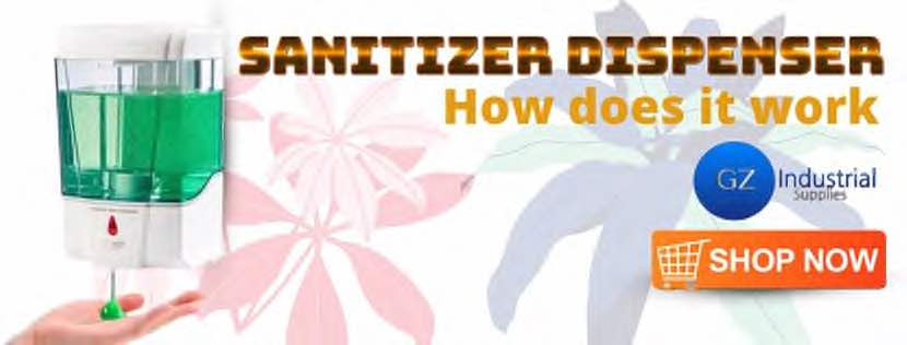 How Does Hand Sanitizer Dispenser Work?