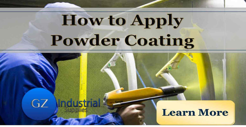 How to apply powder coating