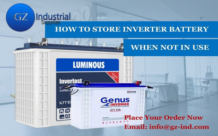 ​How To Store Inverter Battery When Not In Use